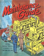 Caterpillar Maintenance Guide 1953  D364 to D397