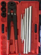 Pressatrice manuale raccordi tubo multistrato Pex th 16 20 26 KIT con molle