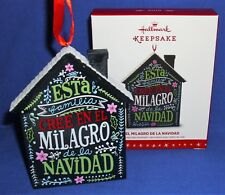 Hallmark Ornament El Milagro de la Navidad 2016 The Miracle of Christmas Spanish