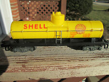 American Flyer #24328 SHELL OIL CO. TANKER...(+)DIECAST KNUCKLE TRUCKS!