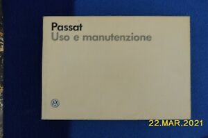 Uso e manutenzione PASSAT VOLKSWAGEN 1986 - ITALIANO