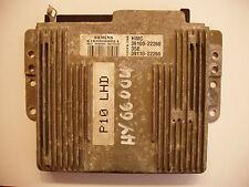 Hyundai Accent X3 Motor Steuergerät K103300003E HMC 39100-22260 35E 39110-22260