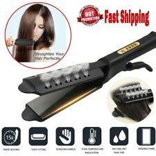 Steam Hair Straightener Ceramic Tourmaline Ionic Flat Iron Pro Glider 998