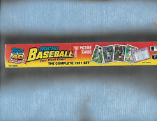 1991 TOPPS MICRO SET CHIPPER JONES ROOKIE 792 CARDS 6 SETS  FREE SHIPPING