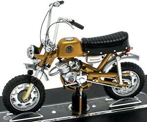 Benelli Mini Cross 50 cc 1970 Moped Motorrad gold metallic 1:18 Atlas