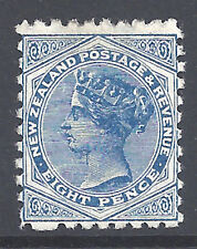 New Zealand Stamp 1893 8d Sunlight Soap Ad Perf 10 (SG225) M £90/$120