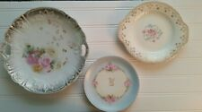 Decorative Plates Set Of 3 Wall Decor Vintage Initial K