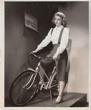 """Jean Mowry in """"Pedal Pusher"""" 2/5/46 WGN Press Department"""