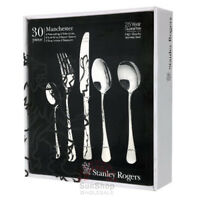 100% Genuine! STANLEY ROGERS Manchester 30 Piece Cutlery Set! RRP $179.00!