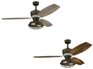 """Ceiling fan with LED lights and remote Westinghouse WELFORD Bronze 137 cm 54"""""""