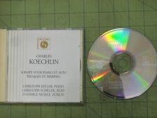 CD Koechlin PIANO & ALTO SONATA/PAYSAGES & MARINES Keller Schiller Mobile ACCORD