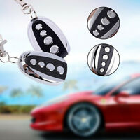Universal Cloning Gate Garage Door ABCD Key Remote Control Fob For 433mhz