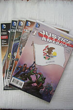 New 52 Justice League Of America #1-5 (Johns, Finch, Illinois Cover)
