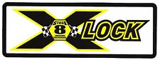 "STAGE 8 Sticker Decal 7.75"" x 2.75""...LOCKING FASTENERS"
