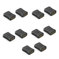 10Pcs Hdmi Female To Female Coupler Extender Adapter Connector F F For Hdtv Z8O6