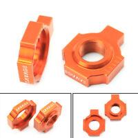 Rear Axle Blocks Chain Adjuster For 1050 1190 1290 RC8//R ADV//R SUPER DUKE R