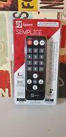 Tivusat TeleSystem Fuba ODE 713 HD Simple Replacement Remote Control