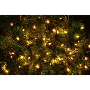 XMAS EVEREADY ULTRA BRIGHT 100 LED CHASER LIGHTs WARM WHITE 8 LIGHT PATTERNS