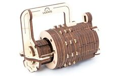 UGears - Combination Lock - 3D Wooden Puzzles/Mechanical Models