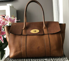 Beautiful Genuine Mulberry Bayswater Over Shoulder Bag, Handbag Oak Tan Leather