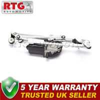 12v Front Windscreen Wiper Motor + Linkage for Vauxhall Corsa D E 06-13 + VXR