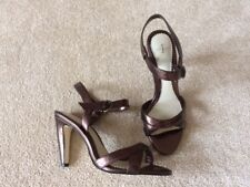 4998e2eb1b3f Jasper Conran pretty heeled sandal 4 (37) metallic brown hardly worn vgc
