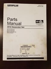 GENUINE CATERPILLAR CAT 3512 Generator Set Parts Manual_SEBP2775