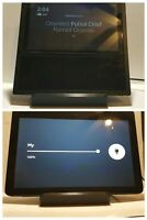 Amazon echo show 1&2 tilting STAND 3D printed view at multiple angles (Black)