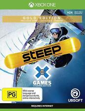 Steep X Games Gold Edition Snowboarding Skiing 8 Sports Game Microsoft Xbox One