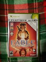 XBOX Platinum Hits - Fable: The Lost  Chapters Rated M No Manual Tested CLEAN