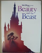 BEAUTY & THE BEAST PRESS RELEASE KIT 1991 W/PHOTOS & PRODUCTION INFORMATION