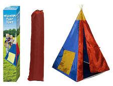 Childrens WIGWAM/Teepee Tenda Play (100 x 100 x135cm)