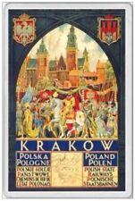 JUMBO FRIDGE MAGNET - KRAKOW POLAND POLISH CRACOW POLSKA