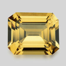 3.69cts CALIBRATED 11X9MM EMERALD CUT DUSTY YELLOW BERYL VIDEO IN DESCRIPTION