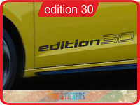 Vw caddy Edition 30 logo  autocollant stickers X 2 - couleur au choix