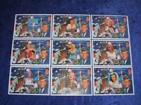 MARILYN MONROE JFK KENNEDY SPACE TRAVEL ASTRONAUTS MNH SET OF 9 SHEETLETS