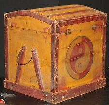 CIRCUS SIDE SHOW WORK BOX vintage CARNIVAL MAGIC ACT magician prop freak oddity