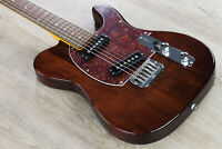 G&L Tribute ASAT Special Solidbody Electric Guitar Brazilian Cherry Irish Ale