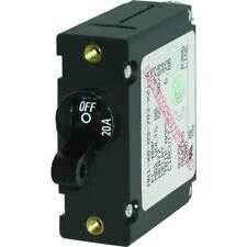 Blue Sea 7212 Circuit Breaker Aa1 20a Black 7212