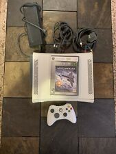 Xbox 360 Original 60 GB HDD - Power Adapter AV Cables Ace Combat 6 White Console