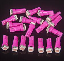 20 T5 Pink Dashboard Gauge 74 1-LED SMD Wedge Instrument Panel Cluster Dash Bulb