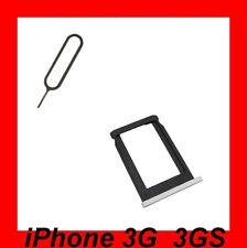 ★ TIROIR Carte SIM Pour iPhone 3G et 3GS + Clé D'extraction BLANC