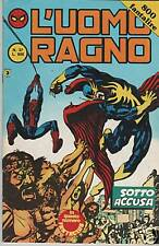 L'UOMO RAGNO seconda II 2a SERIE CORNO N.37 SOTTO ACCUSA  devil frank miller
