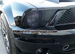 Mustang Shelby GT500 GT500KR 07-09 Headlight Fog Light Perforated Tint Vinyl