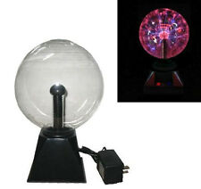 SOUND ACTIVATED PLASMA LIGHTNING 8IN BALL light sphere motion lights electric