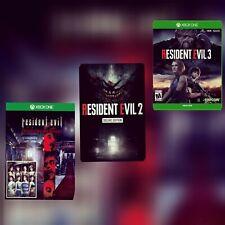 RESIDENT EVIL 0,1,2 E RESIDENT EVIL 3  Xbox One No KEY no CD (LEGGI DESCRIZIONE)
