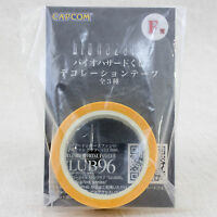 Biohazard Decoration Tape Yellow Capcom JAPAN GAME RESIDENT EVIL