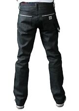 Kr3w Black Raw Selvedge Klassics Crooks & Cattles Clan Collab Denim Jeans 28 NWT