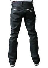Kr3w Black Raw Selvedge Klassics Crooks & Cattles Clan Collab Denim Jeans 28 NWT