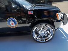 JADA 1/24 SCALE CHROME WHEELS FOR REPAIRING FITS 2010 CHEVY TAHOE #2004PQTS